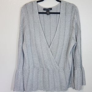 Ashley Stewart wrap sweater size 22/24